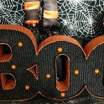 Spooktacular Halloween Party Ideas. Boo Marquee Sign- B. Lovely Events