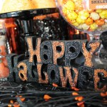 Spooktacular Halloween Party Ideas. Halloween Sign- B. Lovely Events