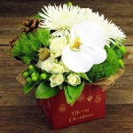 beautiful Christmas box from Flowers For Everyone