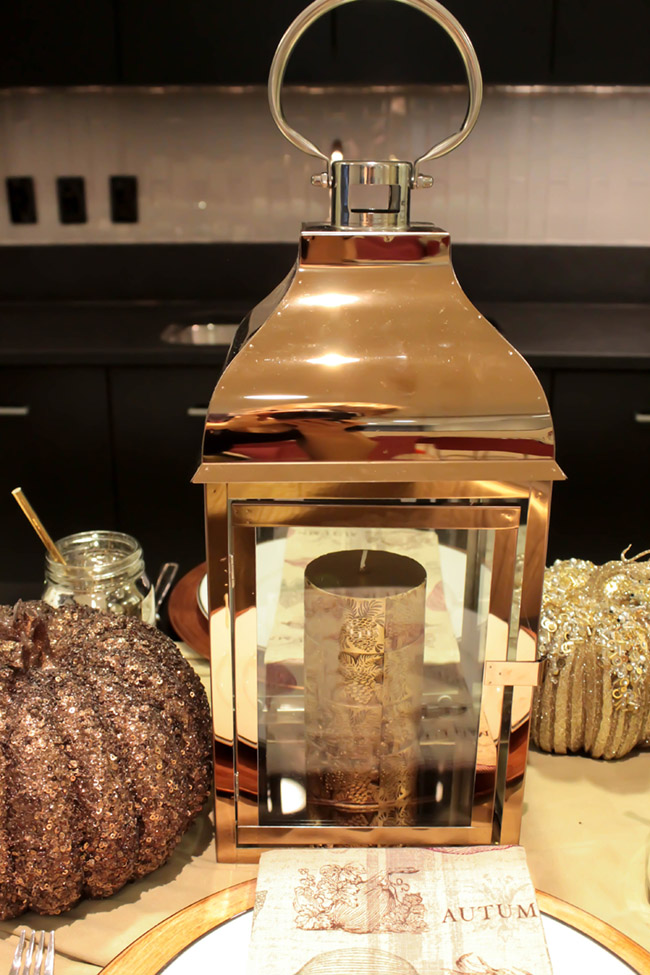 Beautiful Fall Lantern for Thanksgiving! - B. Lovely Events
