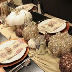 Beautiful Fall Thanksgiving Tablescape- B. Lovely Events