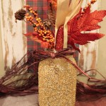 DIY Fall Mason Jar- See How To Make Them On B. Lovely Events