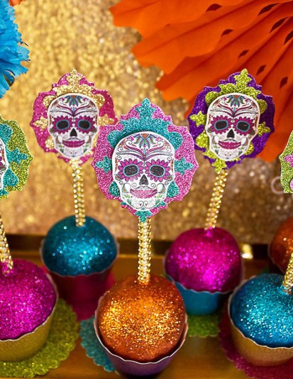 dia de los muertos cake pops- See more day fo teh dead ideas on B. Lovely Events