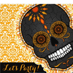 dia de los muertos invitations- See more ideas on B. Lovely Events