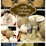 Lovely Thanksgiving Tablescape- B. Lovely Events