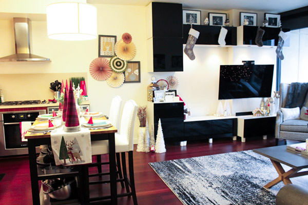 Holiday Home Tour- See more holiday home tour on B. Lovely Events