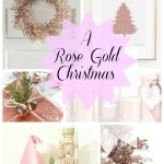 Rose Gold Christmas Ideas