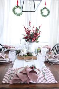 Inspiration Of The Day- Nautical Christmas Tablescape