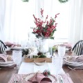 Lovely Nautical Christmas Table From A Starfish Cottage