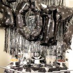 Black and Silver New Years Eve Party With Amols & B. Lovely Events