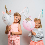 This Unicorn balloons are darling!