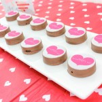 Valentines day oreos with zazzle
