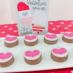 Valentines day treats and cards