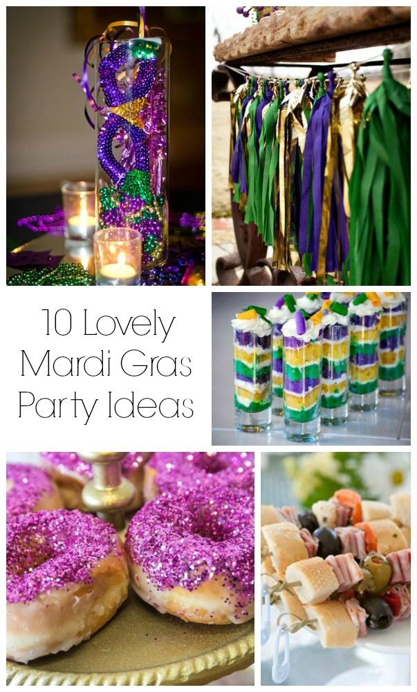 10 Of Our Favorite Mardi Gras Party Ideas!