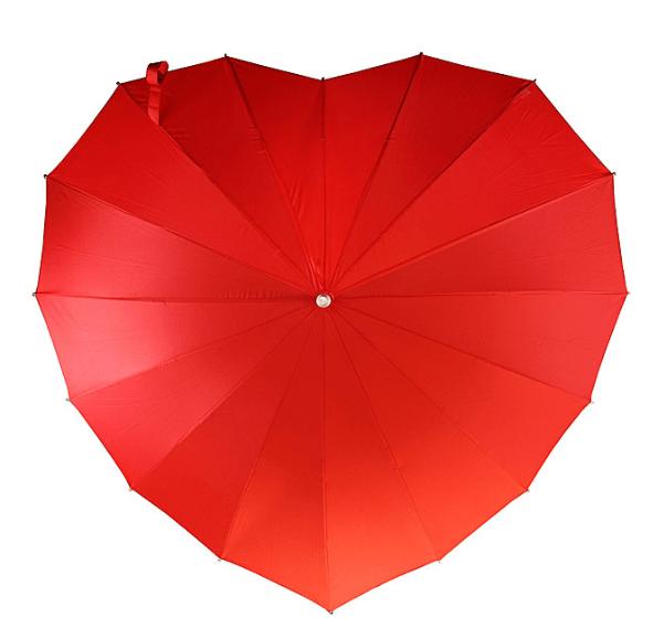 Bridesmaid Gift Ideas- Heart Umbrella - so cute!