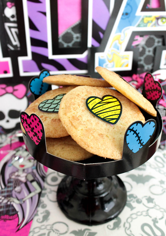 Monster High Party Cookies- See More Cute Party Details On B. Lovely Events