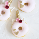 Unicorn Donuts- See More Lovely Unicorn Party Ideas on B. Lovely Events