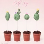 Cactus Cake Pops- SO cute! - See Lovely & Fun Cactus Ideas on B. Lovely Events
