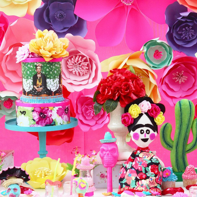 Day of the dead Fiesta Cake- See more fiesta cake ideas on B. Lovely Events