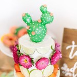 Fiesta Cactus Cake - See Lovely & Fun Cactus Ideas on B. Lovely Events
