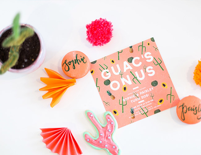 Love this Cactus invitation- See Lovely & Fun Cactus Ideas on B. Lovely Events