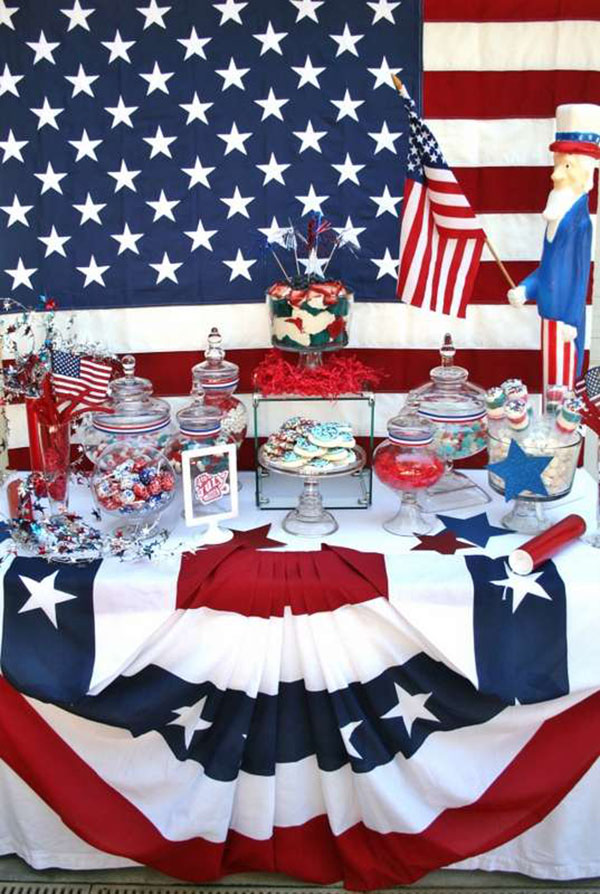 Love everything about this 4th of july party! - See 10 of our favorite 4th of July Parties on B. Lovely Events!
