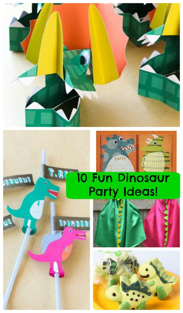 10 fun Dinosaur Party Ideas- B. Lovely Events