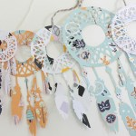 DIY Dream catcher Mobile- Learn how to make it on B. Lovely Events