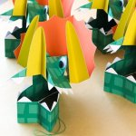 WHAT! These are the coolest Dinosaur party hats!
