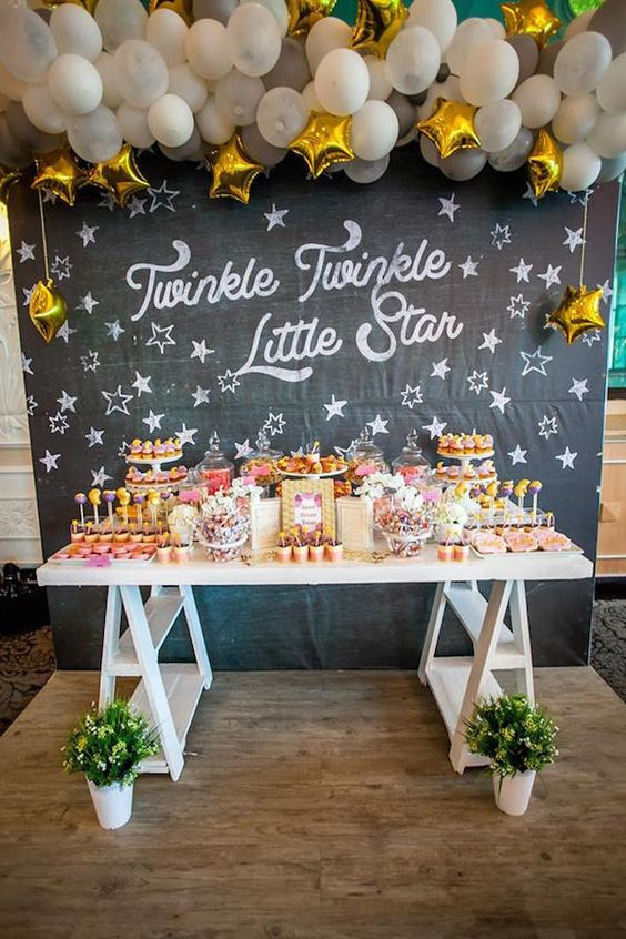 Twinkle Twinkle Little Star Party! - See more Space, Star and Galaxy party Ideas on B. Lovely Events