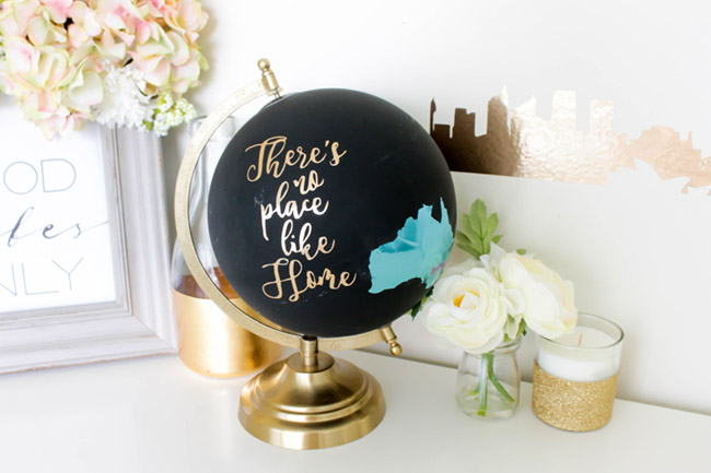 DIY Australian Home Decor- There is No place like home - See how to make this and more on B. lovely Events!