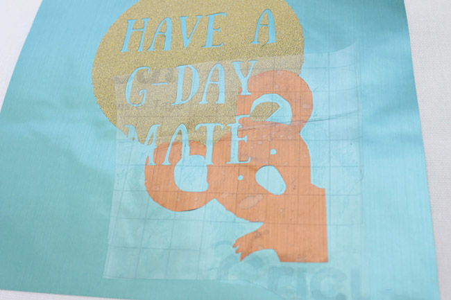 DIY Have a G-Day Mate Tote -See how to make it on B. Lovely Events!