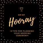 Guest Post- 9 Tips For Planning Your Wedding Ceremony