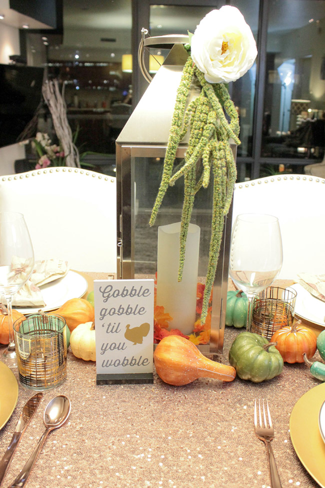 Lovely Thanksgiving Tablescape - B. Lovely Events