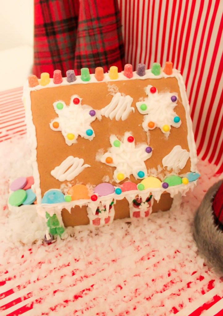 Winter Wonderland Gingerbread House Steps- B. Lovely Events