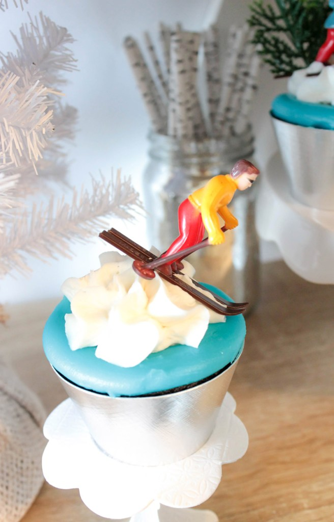 Winter Olympic Cupcakes- B. Lovely Events