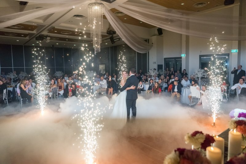 Katrina & Leigh's Gorgeous Firework Wedding {Real Wedding} Katrina & Leigh's Gorgeous Firework Wedding - See the details on B. Lovely Events