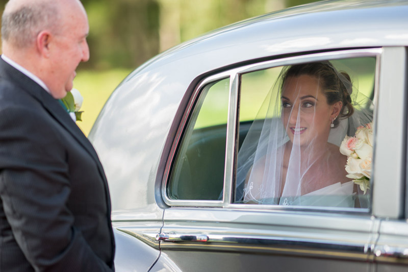 Rolls Royce Wedding Ideas - See the details on B. Lovely Events