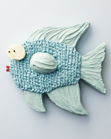 DIY Fish cake-love this for a pool or beach party