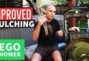 Cross blade your older EGO mower for better mulching #egoMower