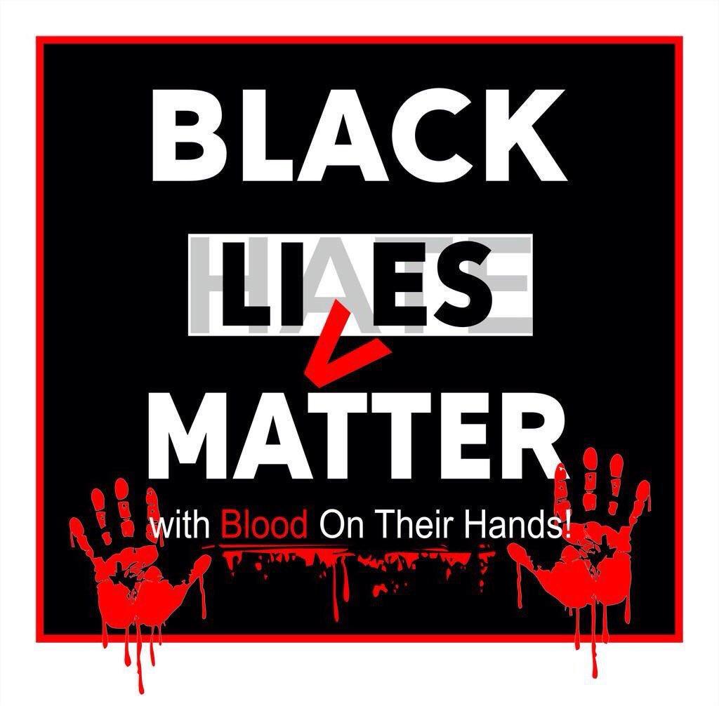 Image result for black lies matter