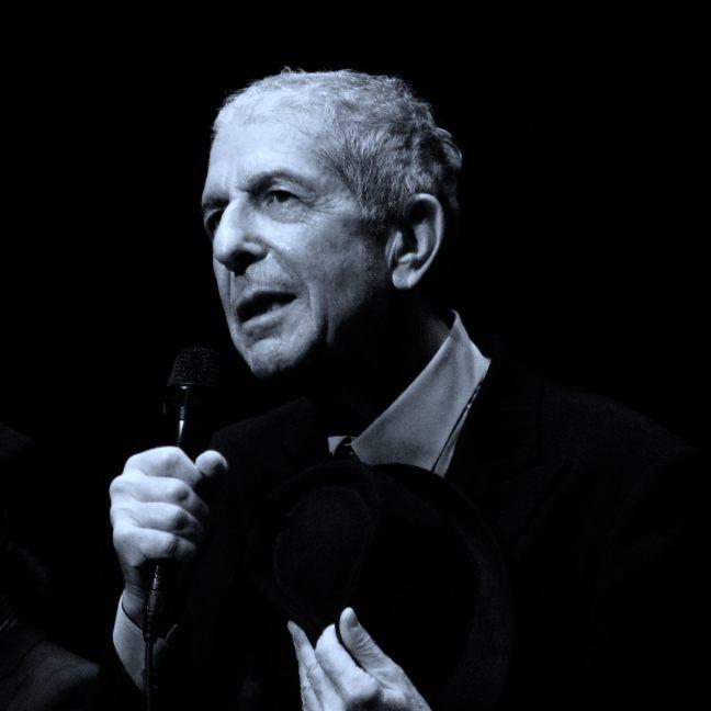加拿大詩人民謠歌 Leonard Cohen
