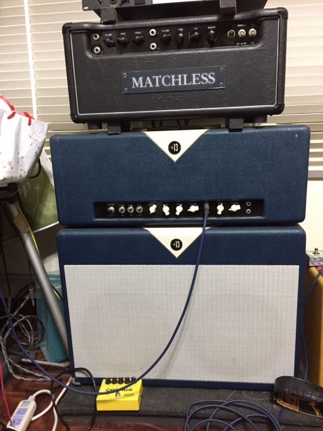 Matchless HC30 Head 與 Divided By 13