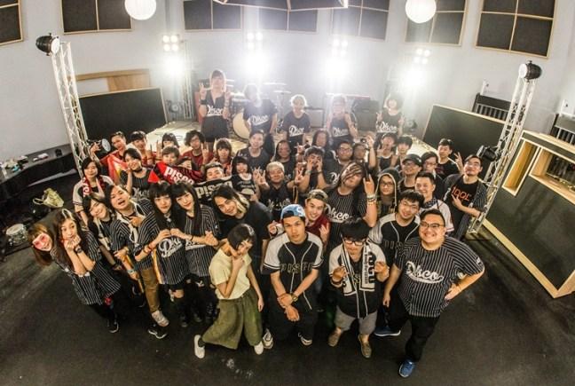北中南樂迷集合支援 P!SCO 新歌的 MV 拍攝。