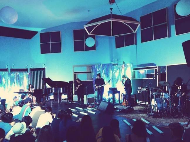 「I Mean Us: A Sneak Preview of OST」微殺青派對於玉成戲院和夥伴、朋友、樂迷一起慶祝專輯錄音殺青(Photo Credit:陳晨 Chen.C)