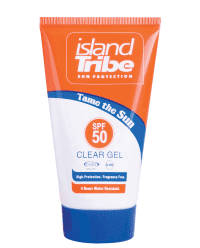 Tribu de islas SPF50 clear gel 50ml