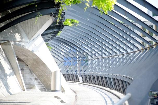 Calatrava's Stadelhofen train station
