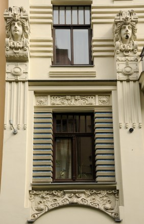 Art Nouveau, window