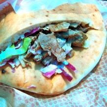 Turkey schwarma for lunch today. Delicious!