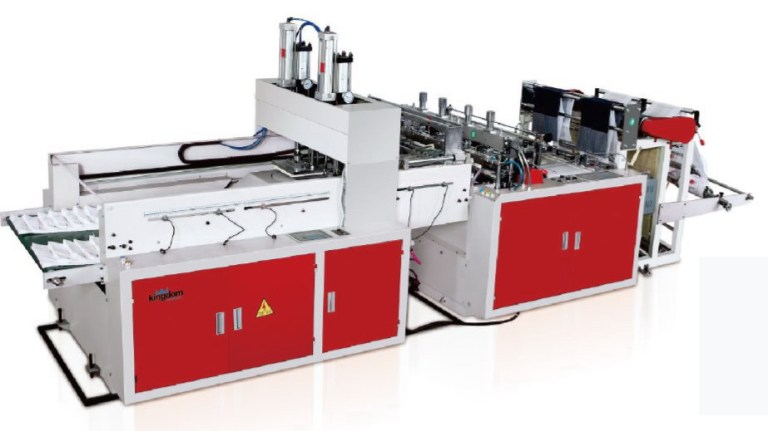 polyethene plastic bag making machine
